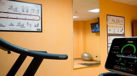 Gym ELE Green Park Hotel Pamphili