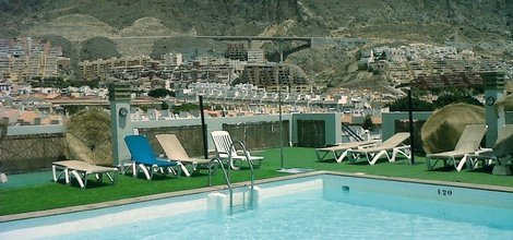 EXTERIOR POOL ATH Andarax Hotel