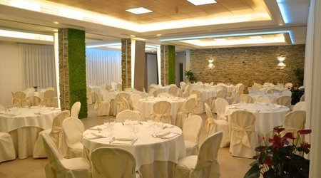 Inside Events Room ELE Green Park Hotel Pamphili