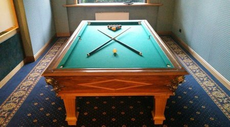 Billiard ELE Green Park Hotel Pamphili
