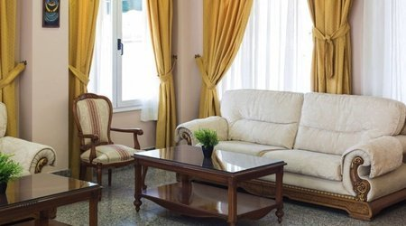 Living room Hotel Complejo ATH Real de Castilla