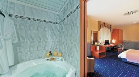 Double Superior room ELE Green Park Hotel Pamphili